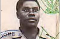 Sylvestre Mudacumura, the military commander of the Democratic Forces for the Liberation of Rwanda (FDLR).