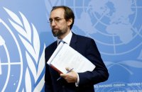 Zeid Ra'ad al-Hussein, the United Nations human rights chief, said the president risked inciting violence.