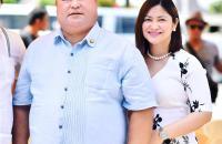 Ozamiz City Mayor Reynaldo Parojinog Sr. (l.) and his daughter, Vice Mayor Nova Princess Parojinog (r.), were gunned down in the Sunday morning raid. (FACEBOOK)
