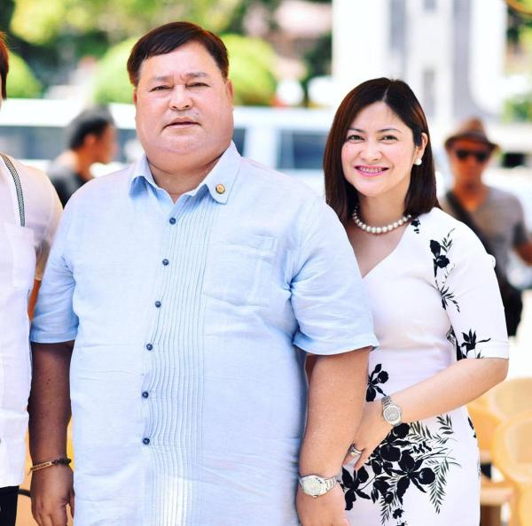 Ozamiz City Mayor Reynaldo Parojinog Sr. (l.) and his daughter, Vice Mayor Nova Princess Parojinog (r.), were gunned down in the Sunday morning raid. (FACEBOOK)