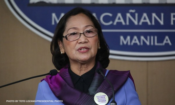 Philippine Commission on Women Chairperson Rhodora Masilang-Bucoy believes life imprisonment is still a more appropriate punishment for convicted rapists.