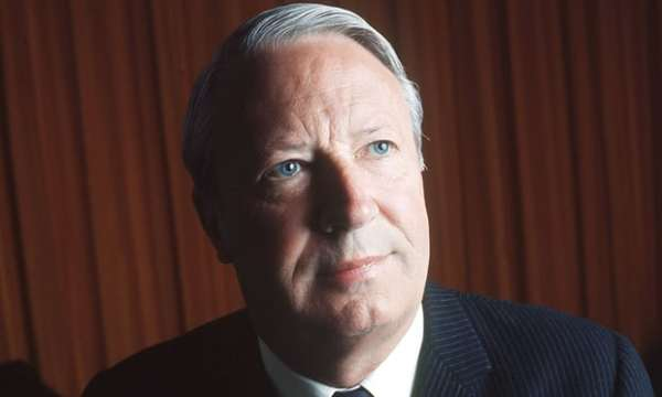 Edward Heath served as UK prime minister from 1970 to 1974. Photograph: Rex/Shutterstock