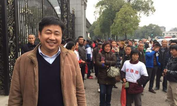 Lawyer Xie Yang who has been detained by Chinese authorities as part of a crack down on human rights. Photograph: Supplied