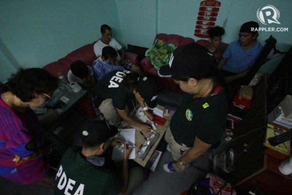 QUOTA. The PDEA chief sets a minimum number of operations that regional chiefs need to reach. Photo by Darren Langit/Rappler