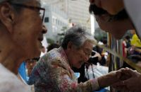 """Former """"comfort women"""" are active in South Korean society"""