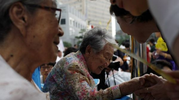 "Former ""comfort women"" are active in South Korean society"