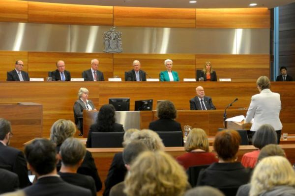PHOTO: The royal commission will hand down its final report on December 15. (AAP: Les O'Rourke)