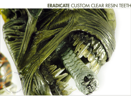 Eradicate Predator - Teeth detail