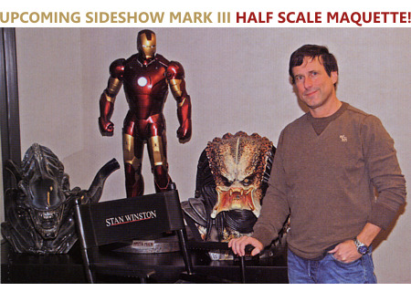 Upcoming Sideshow half scale Iron Man Mark III