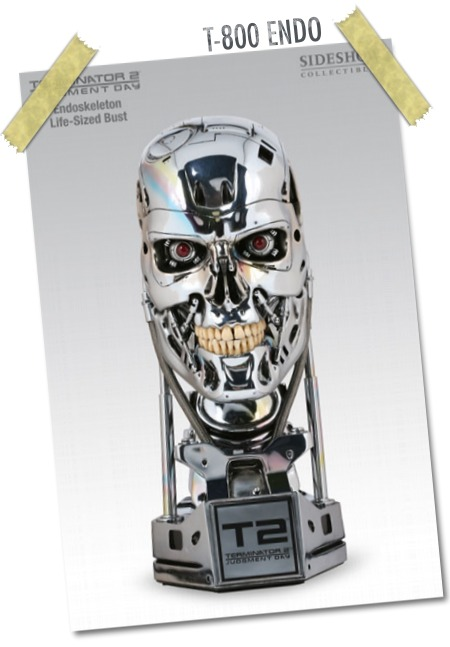 T-800 Endo Bust