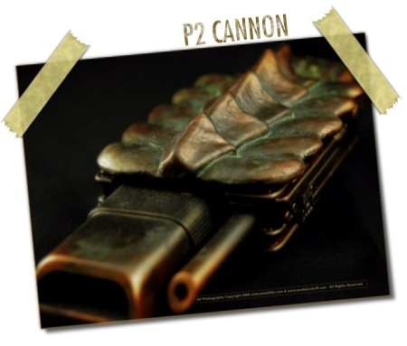 P2 Cannon by Emerald Dragon Studios