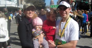 Alter Family at the Austin Marathon