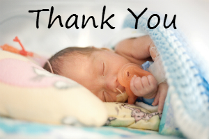 For the Love of Babies Thank You