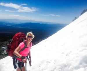 Climbing Mt. Adams