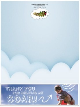Thank you for helping me soar - Free Printable