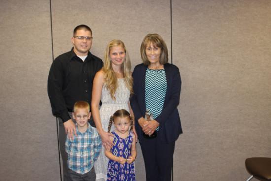 NICU hero Joann Thorpe Arledge family