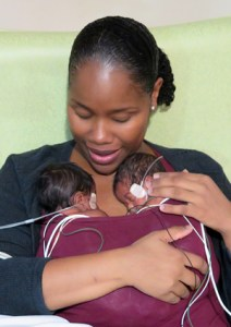 sibling bonding through shared kangaroo care