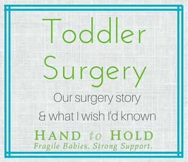 toddler surgery