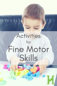 activities fine motor skills