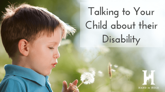 talking to child about disability