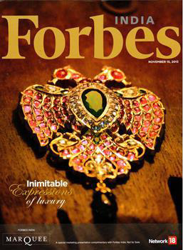 Bejewelled Heritage_Forbes India Nov 2013