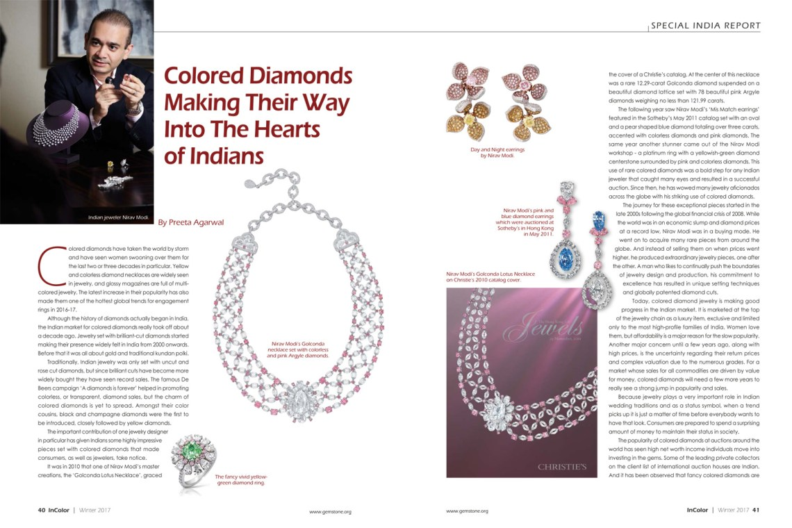 Colored Diamonds_InColor Winter 2017
