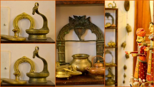 Diwali Decor ideas - My regular day brass display