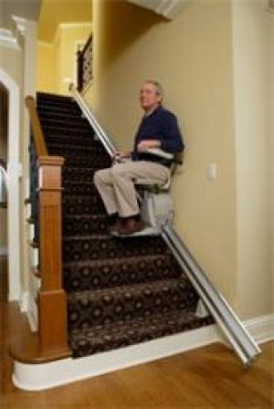 Stiarlift installation Preferred Elevator
