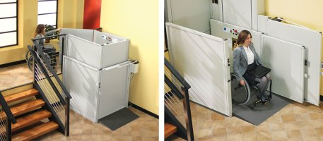 Commercial Wheelchair Lift Installation Preferred Elevator