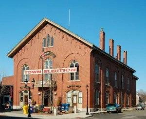 town hall in Andover, MA