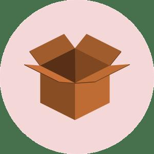 Cartoon of moving box