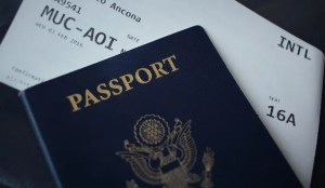 International moving requires a special document such as a passport