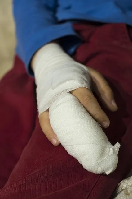Injured finger that is stopping you from moving normally