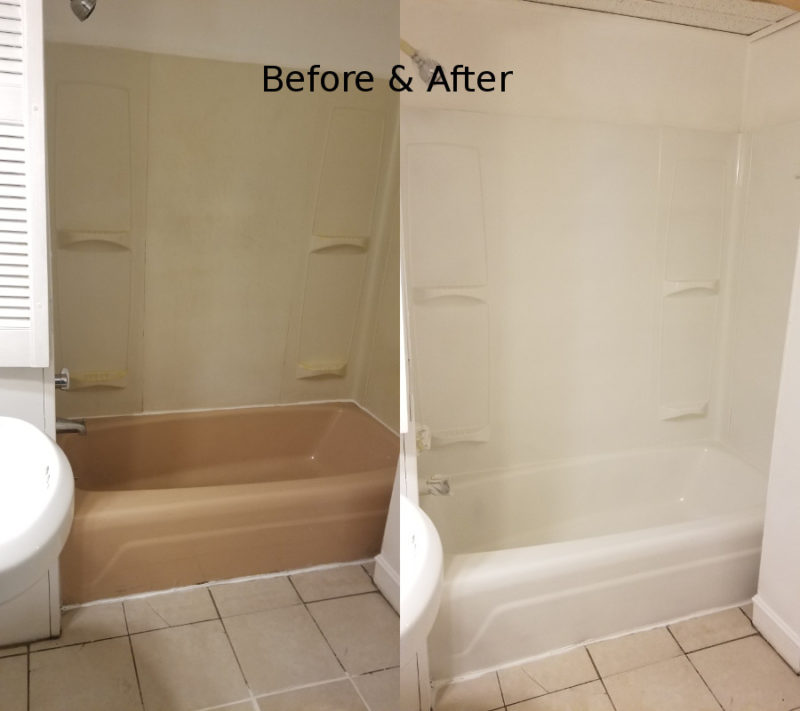 manchester nh bathtub refinishing by