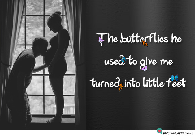 Butterflies Cute Pregnancy Quotes And Sayings Pregnancy Quotes
