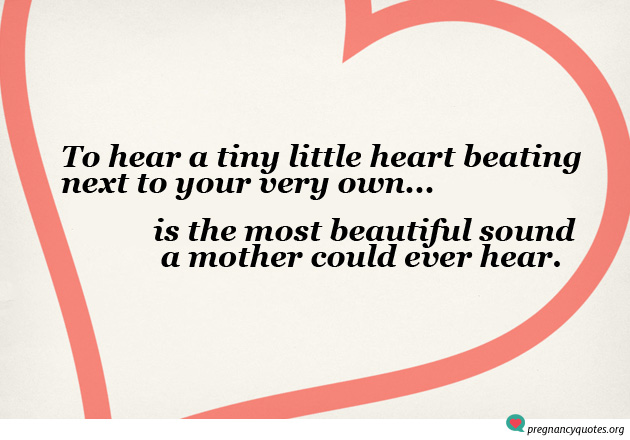 little heart beating - baby beautiful