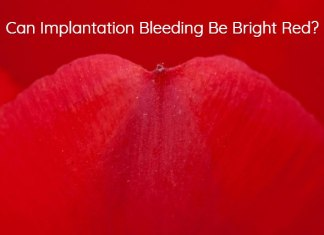 Can Implantation Bleeding Be Bright Red