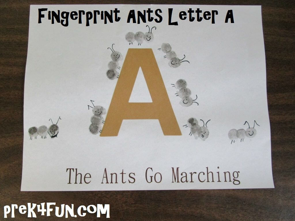 Ant Anthill Worksheet For Preschool