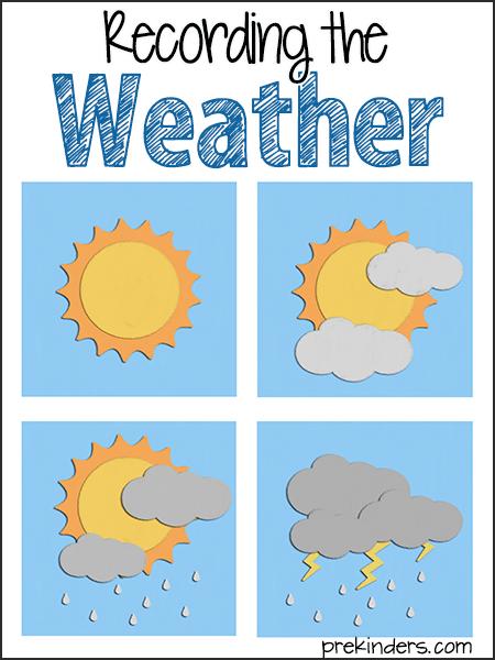 Recording the Weather - PreKinders