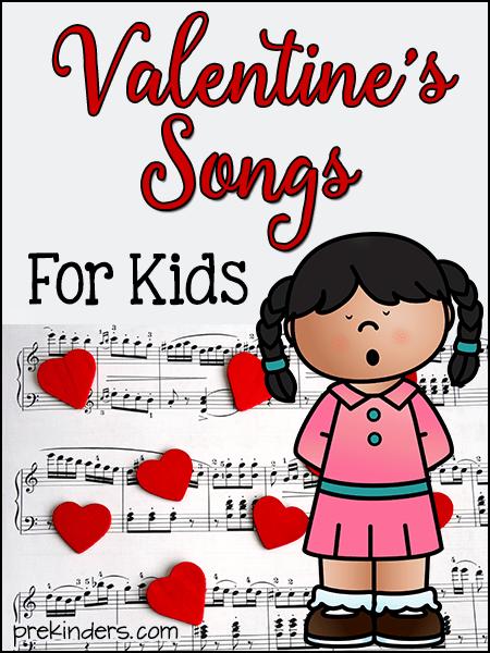 Valentine's Songs for Kids - PreKinders