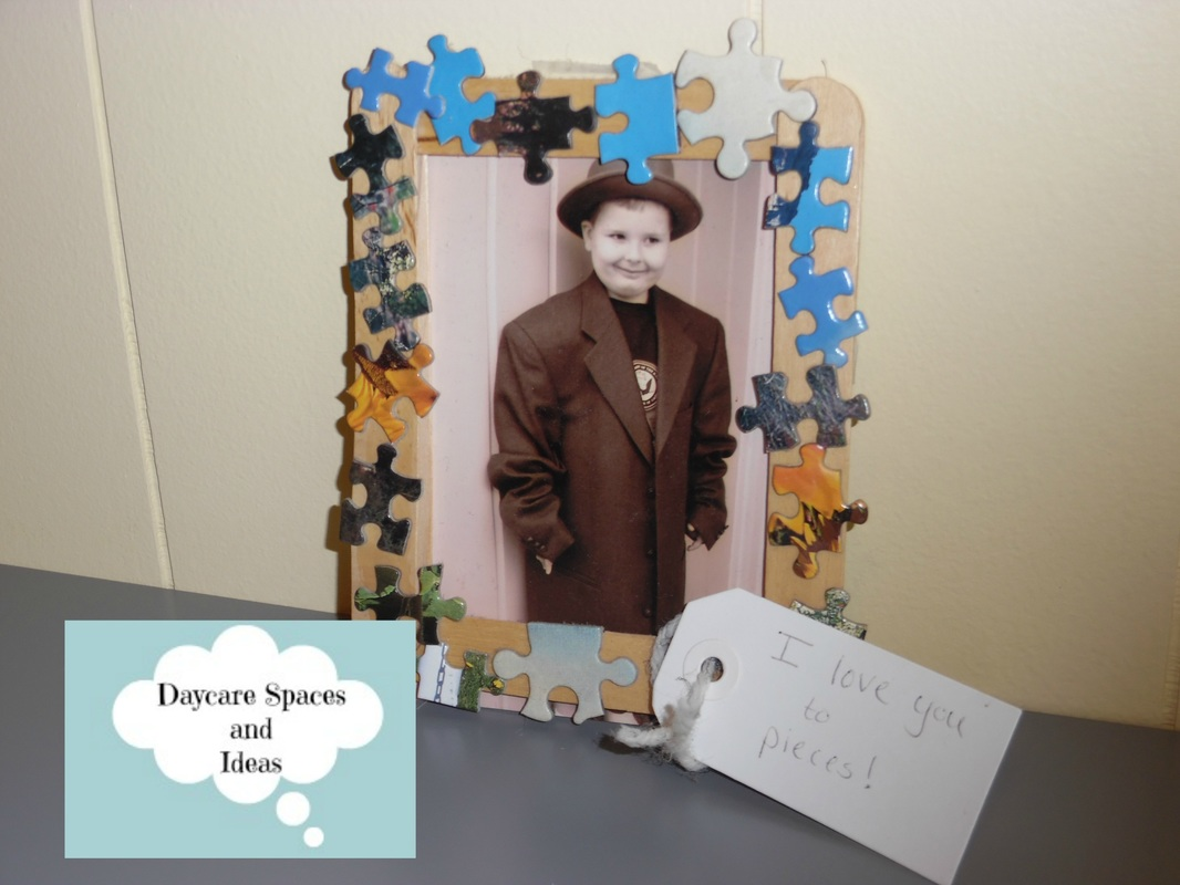 I Love You To Pieces Father S Day Craft