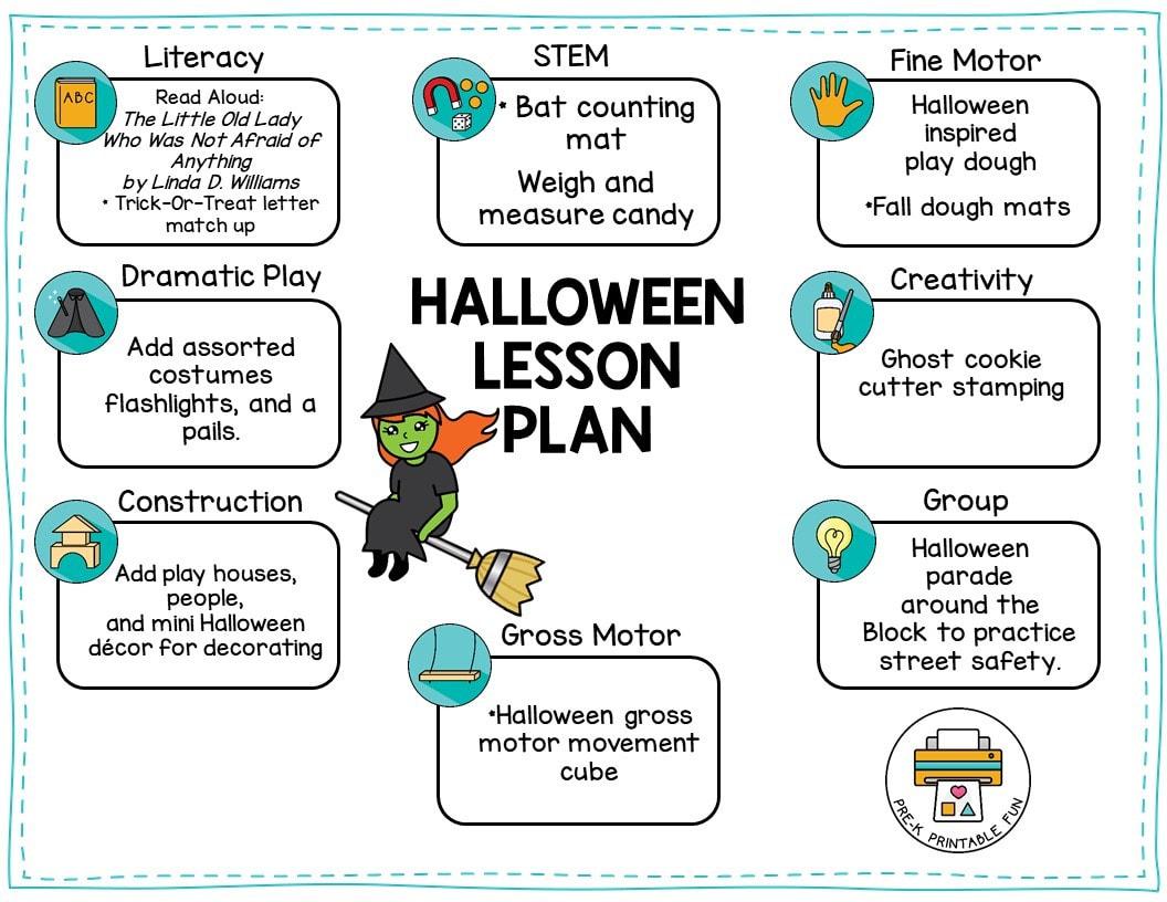 Halloween Lesson Planning Ideas