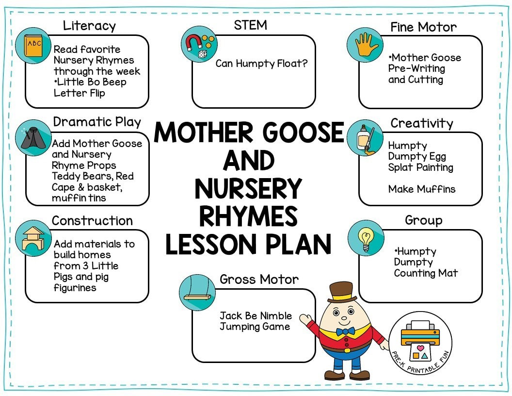 Nursery Rhymes And Mother Goose Theme