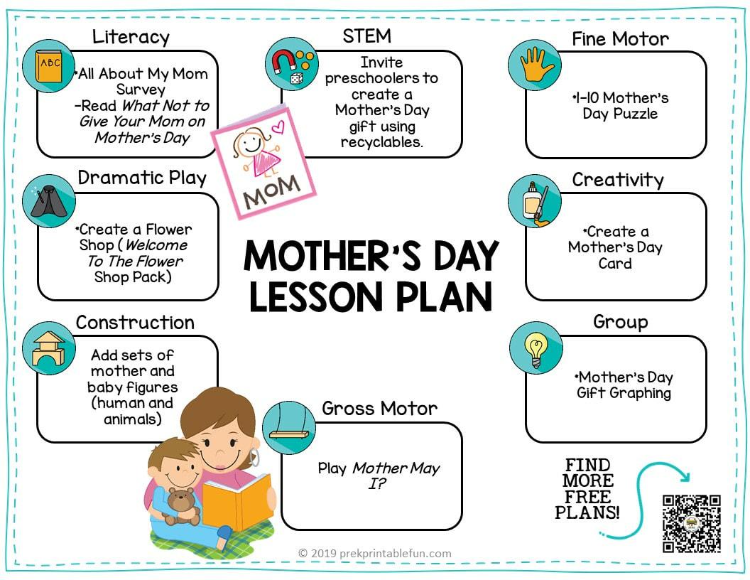 Preschool Mother S Day Theme