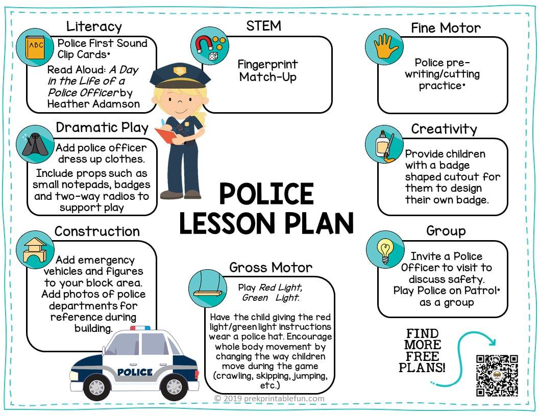 Preschool Police Theme