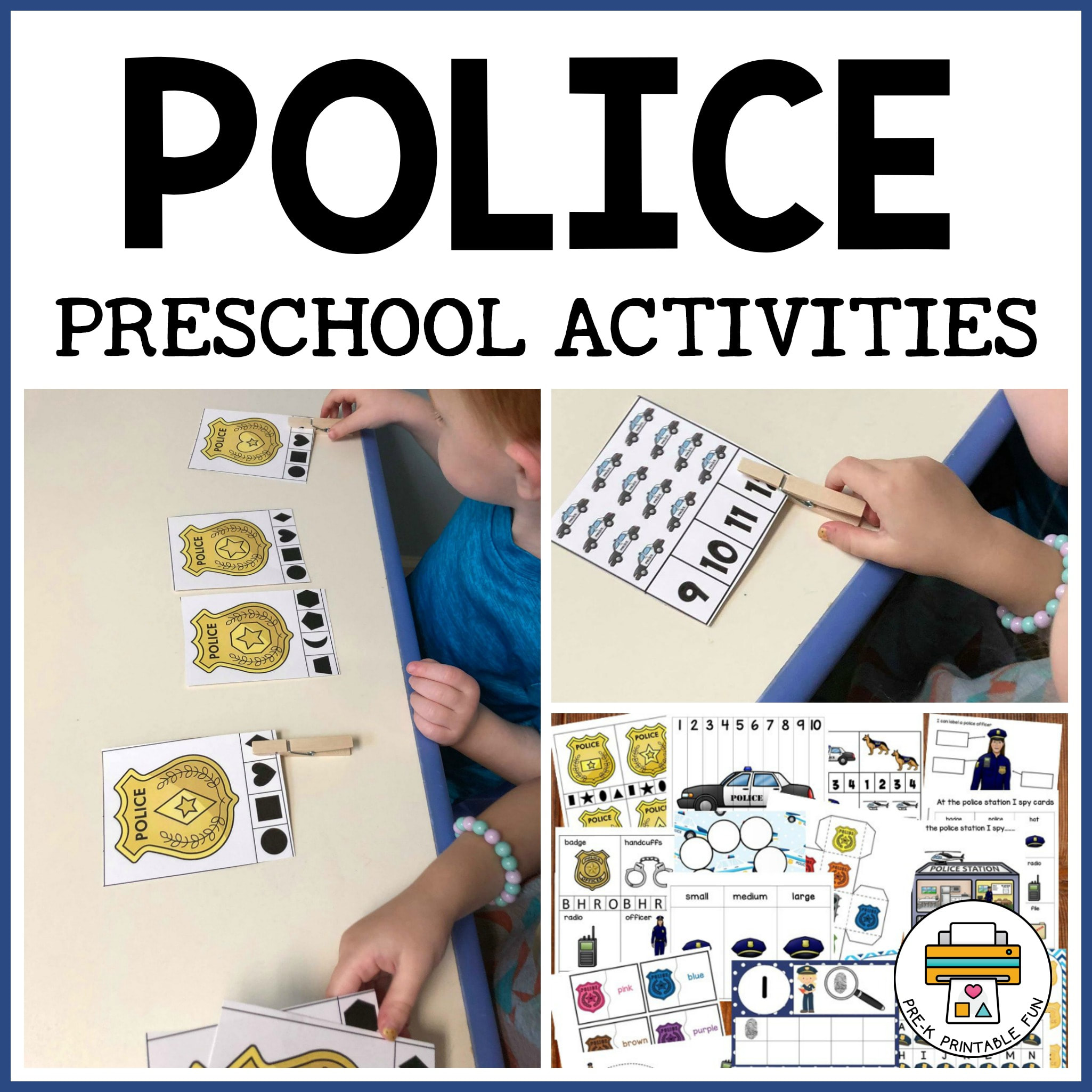 Police Activity Pack