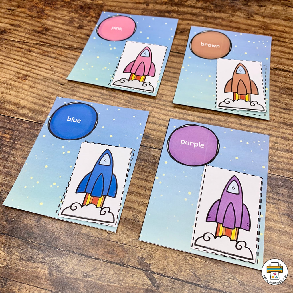Outer Space Preschool Activities