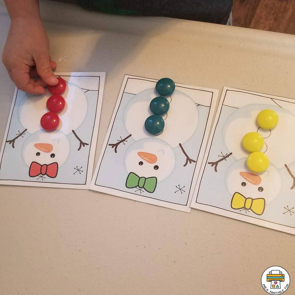 Preschool Snow And Snowman Theme