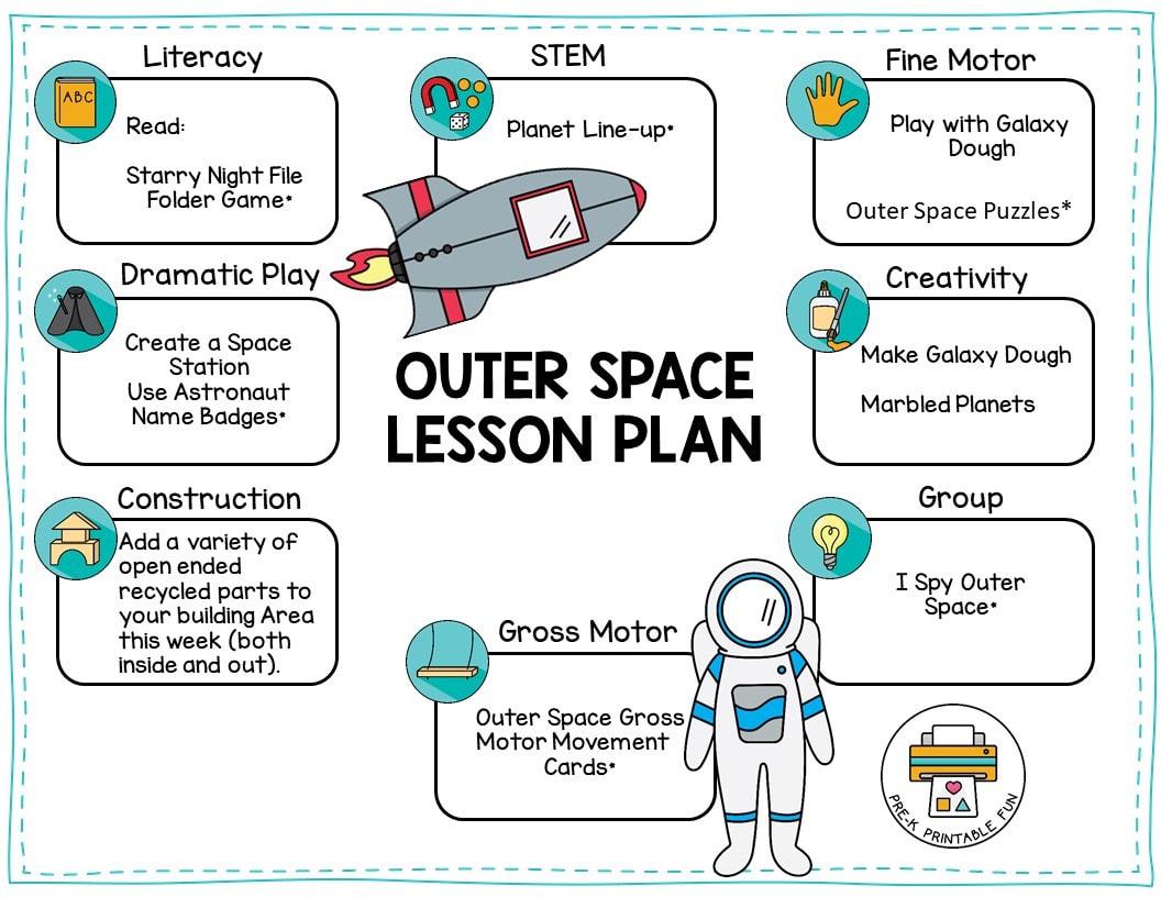 Preschool Outer Space Theme