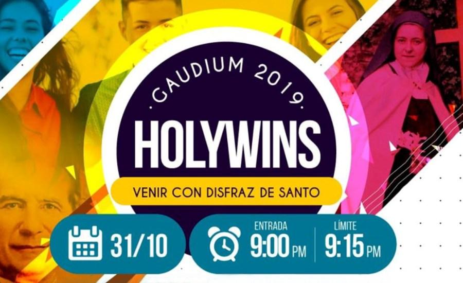 Convocan Gaudium Holywins 2019